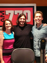 Photo: Radio Interview in Calgary