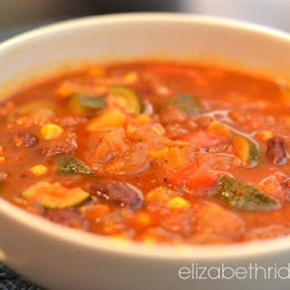 Easy Spring Vegetarian Chili Soup