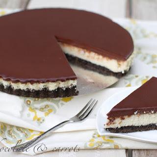 Healthier Chocolate Cheesecake.