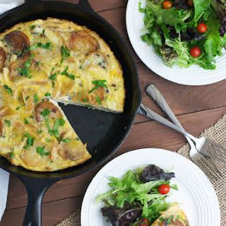 Spanish Style Tortilla with Chicken.