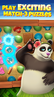 Animal Cove: Solve Puzzles & Design Your Island Screenshot