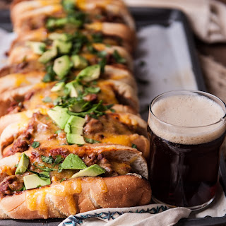 Beer Chili Party Dogs