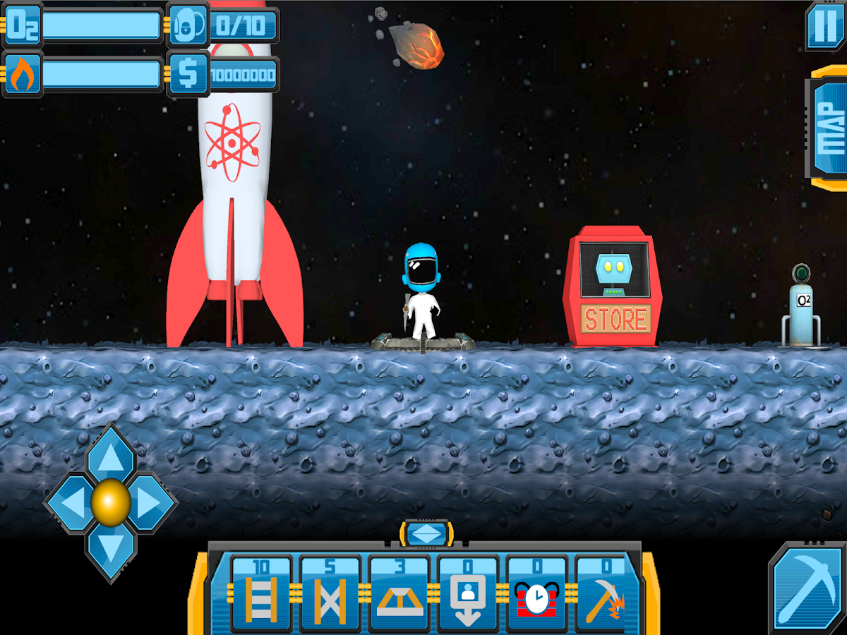 Mars Miner 2- screenshot