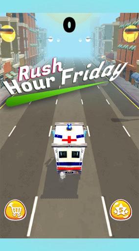 Rush Hour Friday - Jeu de Course de Voiture  captures d'écran 1