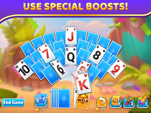 Puzzle Solitaire - Tripeaks Escape with Friends 12.0.0 screenshots 8