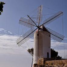 Photo: mulino a Es Castell
