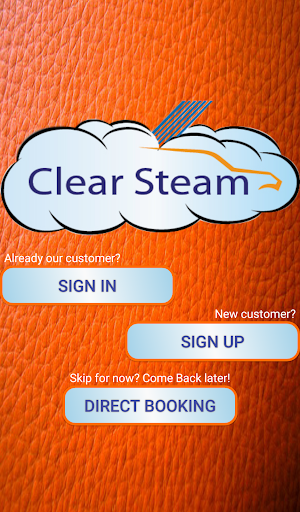 Clear Steam Car Wash