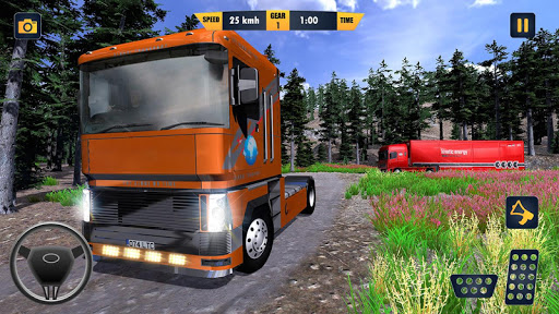 American Truck Cargo Car Transporter Driving 1.8 screenshots 3