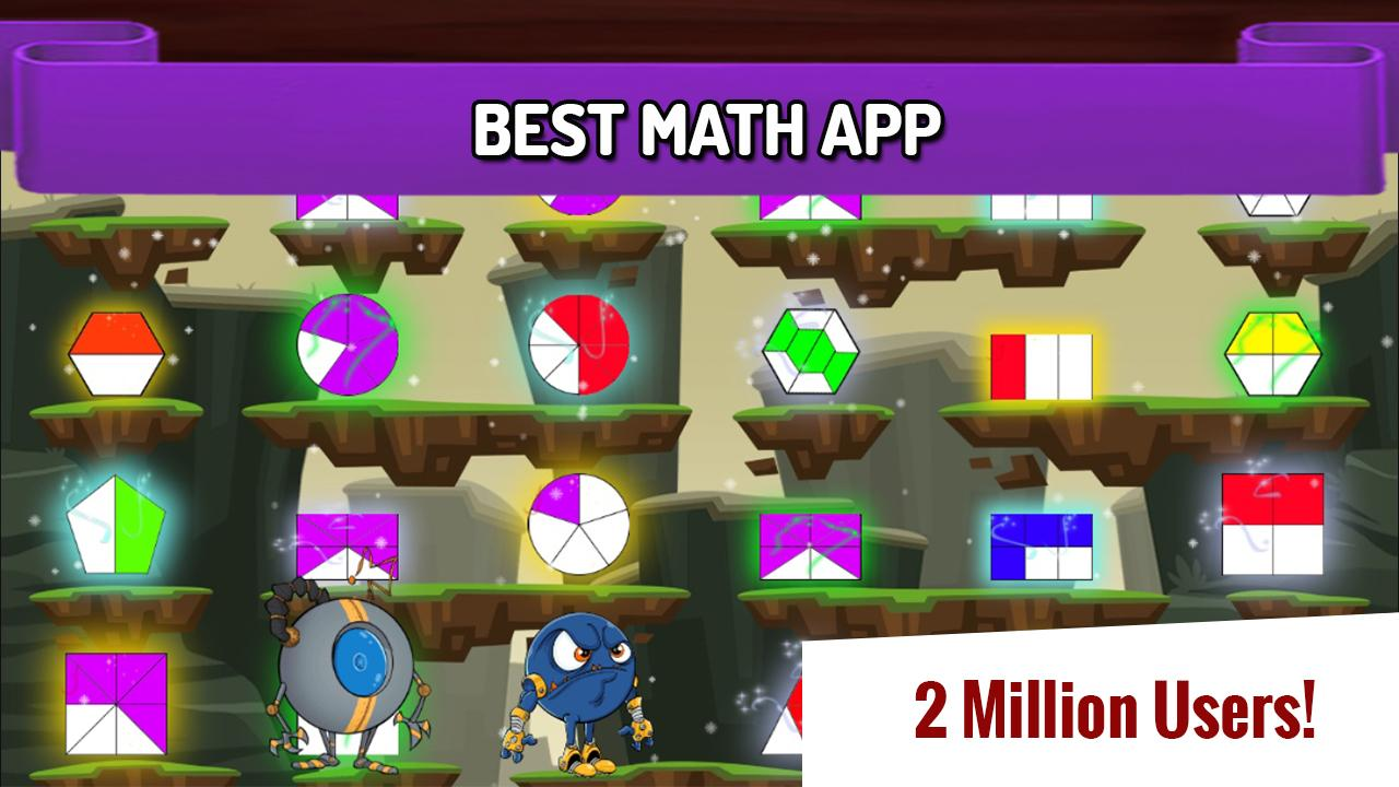 Duel: fun, fast mental math facts games for kids- screenshot