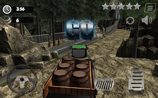 트럭 운전사 3D 화물 트럭