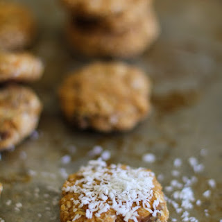 Coconut Sweet Potato Cookies.