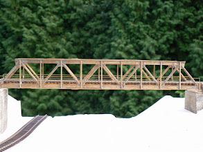 Photo: Strebenfachwerkbrücke 1:45