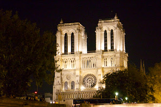 Photo: First sight of Notre Dame