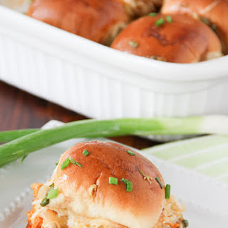 Party Buffalo Chicken Sliders.