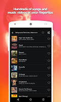 screenshot of Love Songs Hindi App