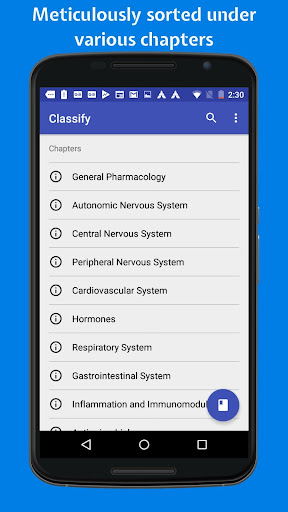 Download Classify Rx for pharmacology 4.1.0 1