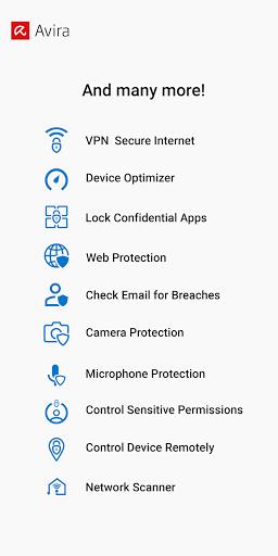 Avira Antivirus 2020 - Virus Cleaner & VPN screenshot 6