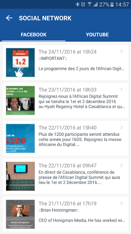 African Digital Summit 2016- screenshot