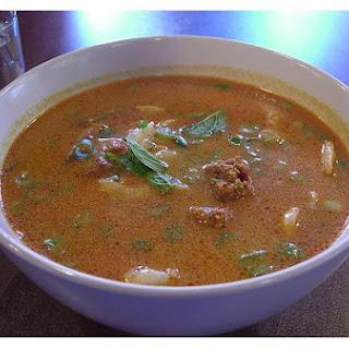Asian Shrimp Curry