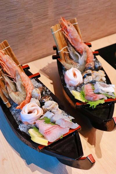 台北微風南山 Shabusato涮鍋里吃到飽日式涮涮鍋,肉食者天堂讓人銷魂的北海道A4和牛。