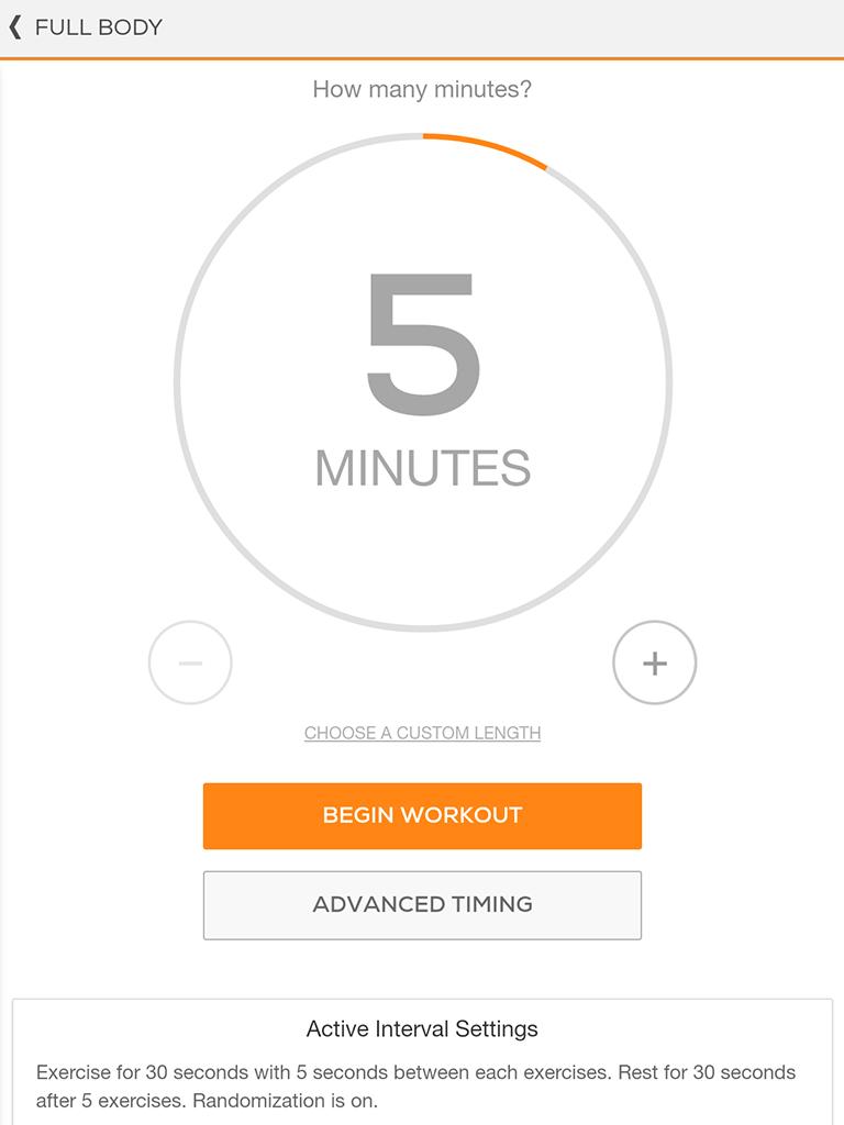 Sworkit: Workouts & Fitness Plans Screenshot 7