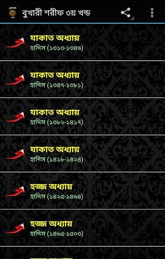 Sahih Bukhari In Bangla Part 3
