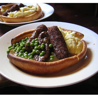 Yorkshire Pudding With Sausage