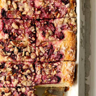 Easy Raspberry Coffee Cake.