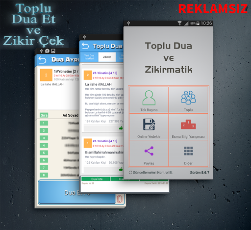Toplu Dua ve Zikirmatik 5.8.9.5 screenshots 1