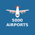 Flight Information for 5000 Airports icon