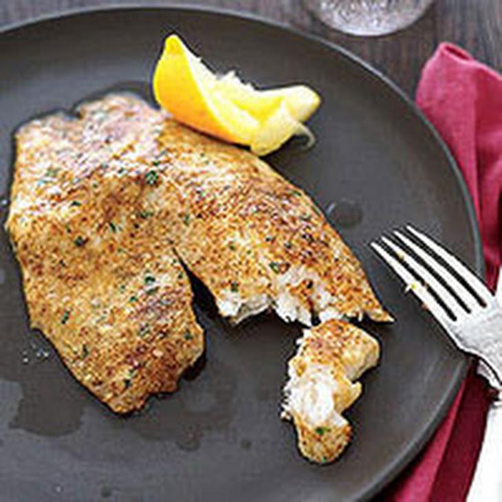 Parmesan-Crusted Tilapia Recipe