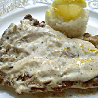 Lemon And Pepper Veal Cutlets.