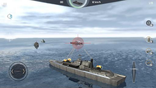 Code Triche Warship Simulator - Battle of Ships APK MOD screenshots 4