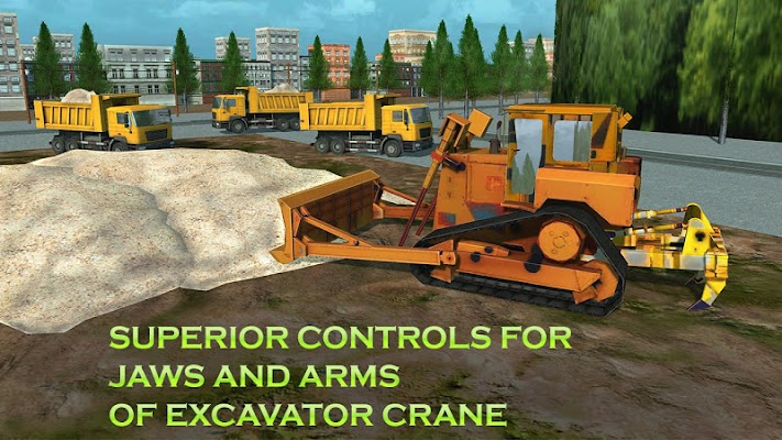 Heavy Excavator Simulator Sand - screenshot