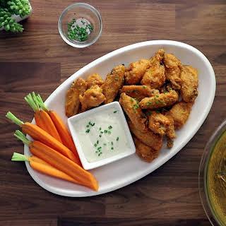 Buffalo Baked Chicken Wings.