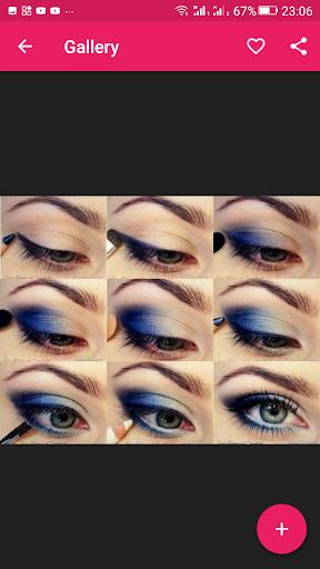 Step By Step Eyes Makeup Tutorial 2.3.09 screenshots 2