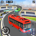 City Coach Bus Simulator 2021 - PvP Free Bus Games icon