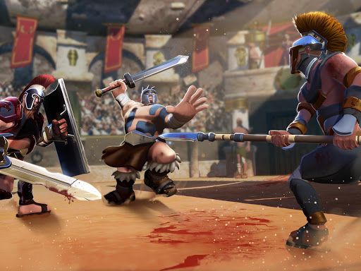 Gladiator Heroes Clash: Fighting and strategy game  screenshots 16