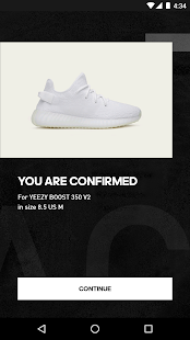 adidas Confirmed- screenshot thumbnail