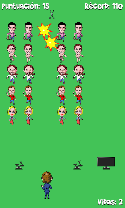 Скриншот Moncloa Invaders