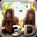 Three Wise Monkeys 3D icon