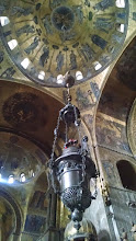 Photo: Inside St Mark's Basilica