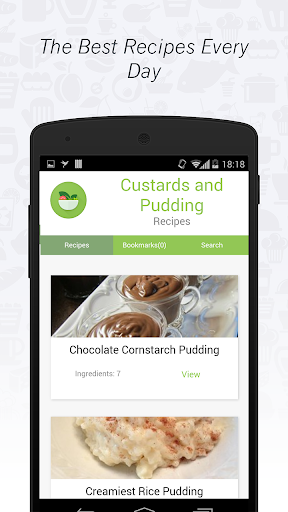 Desserts: Custards and Pudding
