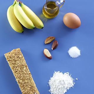 Immune Boosting Banana Granola Bars