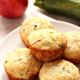 Apple Zucchini Muffins
