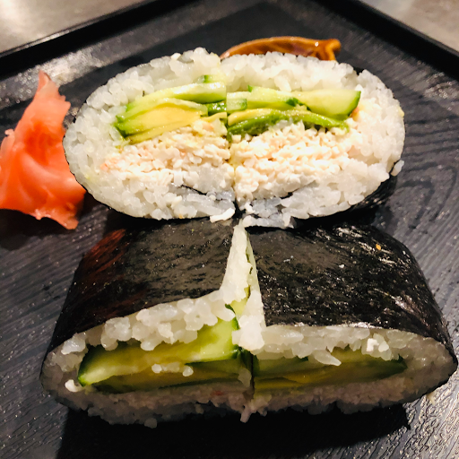 California Sushi Rice Burger