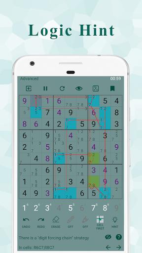 Ninja Sudoku - Logical solver, No ads while gaming apkbreak screenshots 1