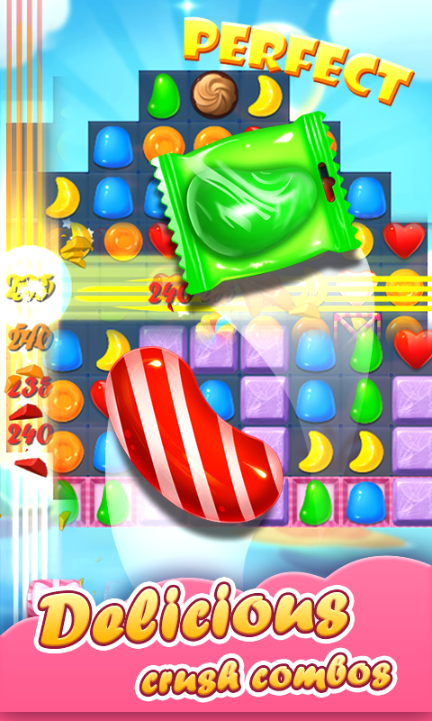 Candy Sweeten - Match 3 Fever & Matching Adventure- screenshot
