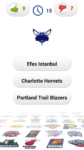 Logo Basketball Quiz screenshot