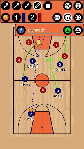 Basketball Tactic Board screenshot